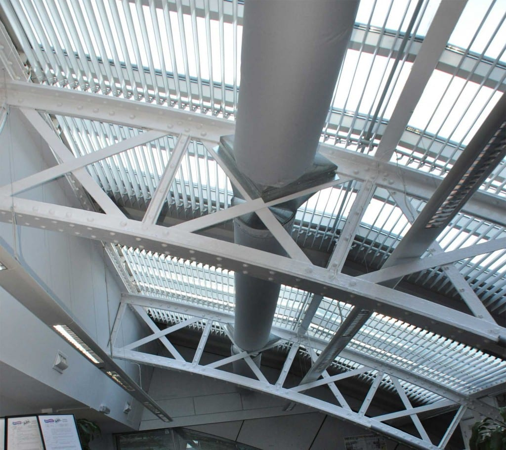 office ventilation ducting