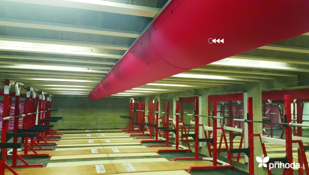 red ducting
