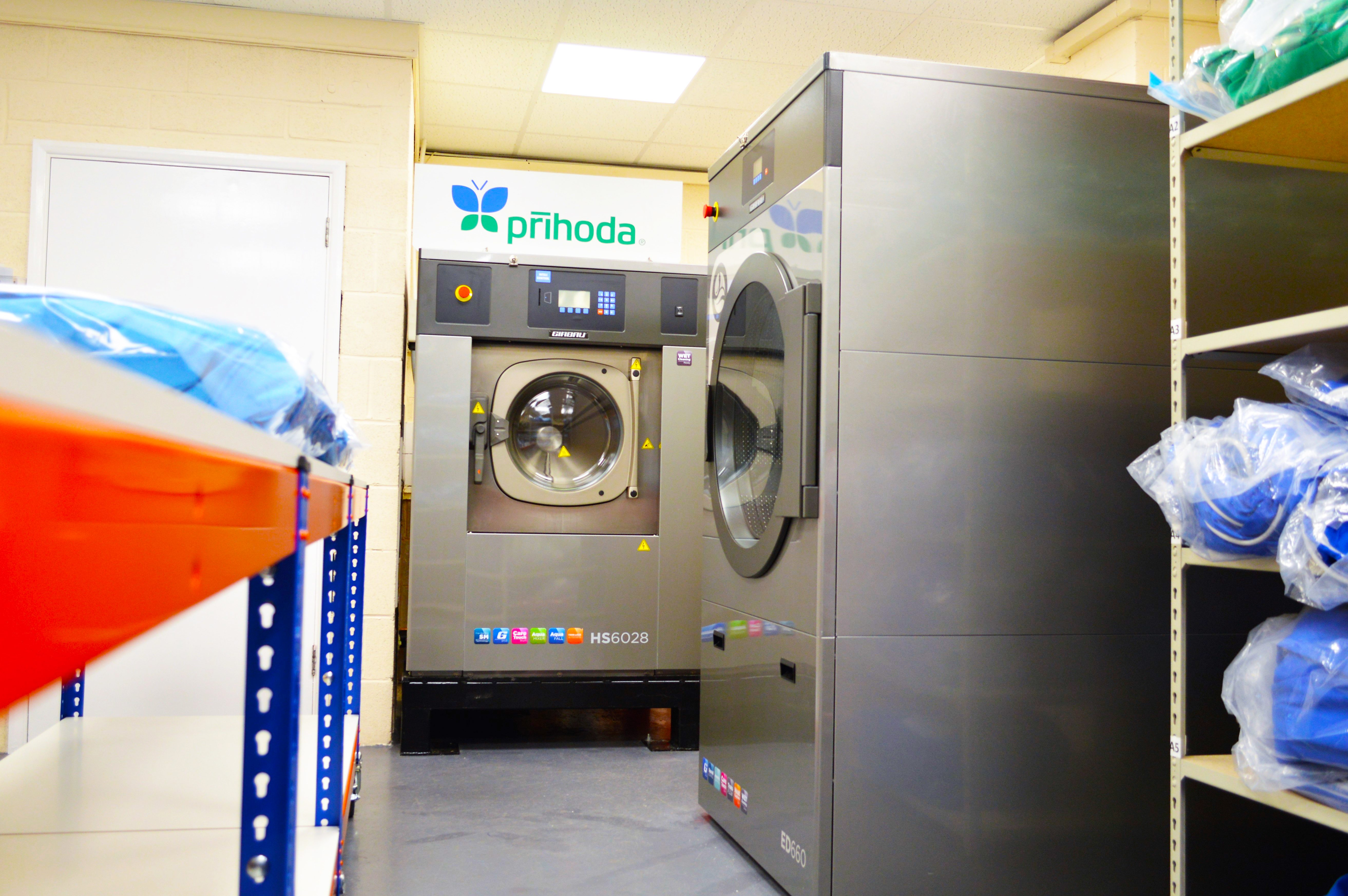 industrial washing and drying machines