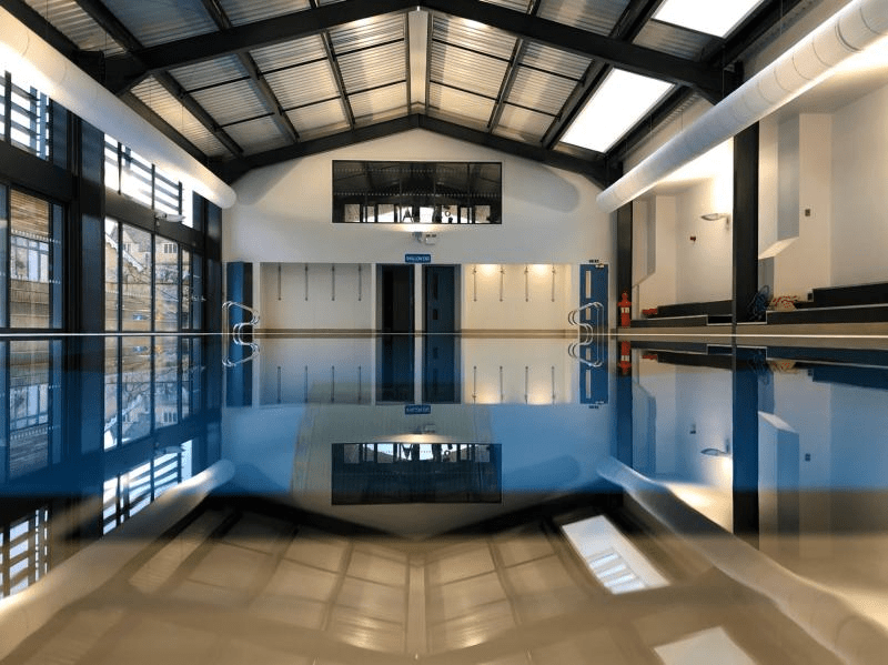Fabric ducting for swimming pool ventilation