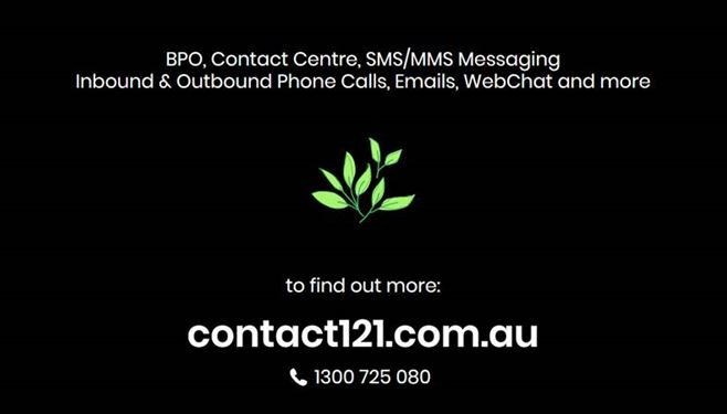 An image of our partners logo - Contact 121