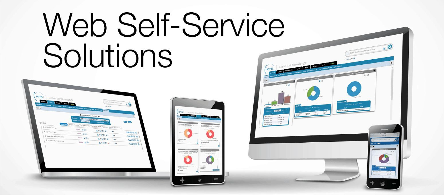An image of Universal Knowledge self-service