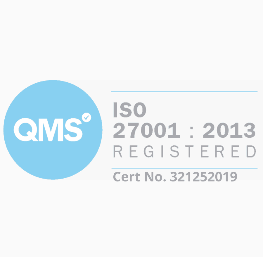 An image of KPS ISO27001 accreditation